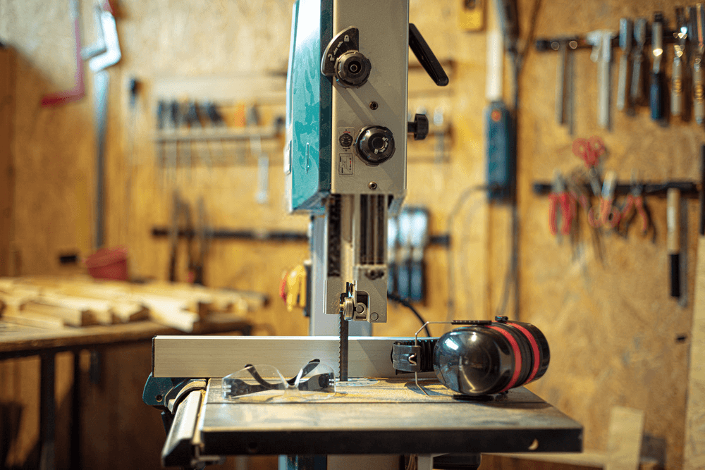 Band Saw Durable Construction