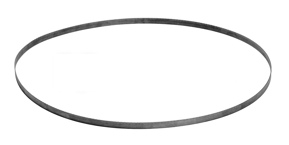 A bandsaw blade
