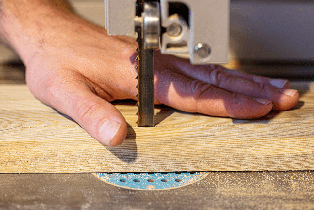 benchtop bandsaw Safety