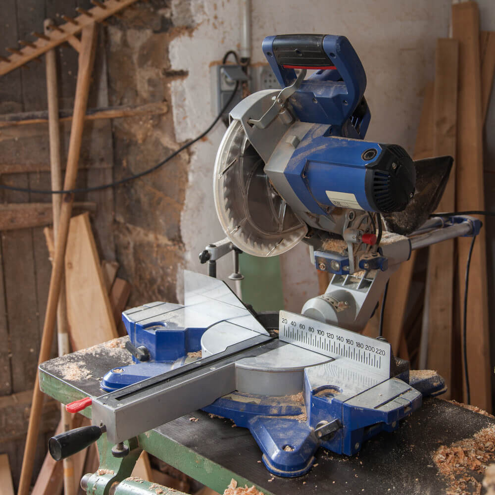 motor powered version of the miter saw